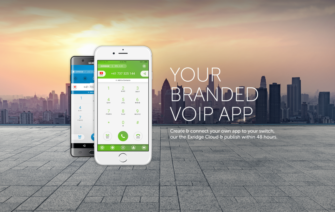 branded mobile voip app
