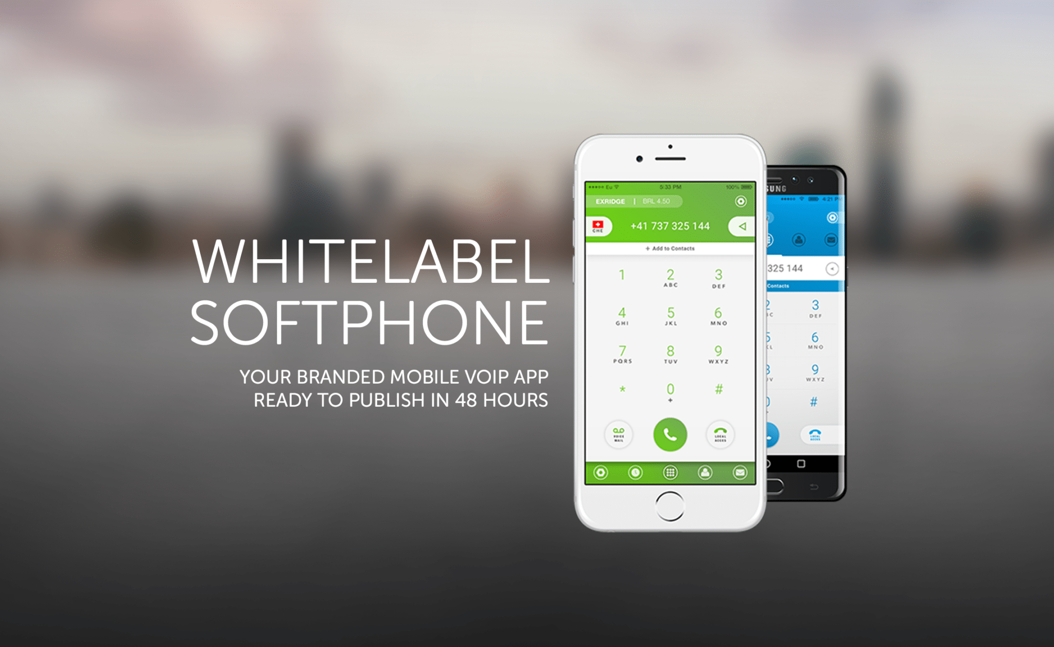Whitelabel Softphone your branded mobile voip app sip client